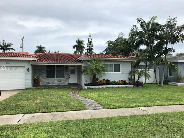 719 N 31st Rd, Hollywood, FL 33021 (MLS #A11055615) :: Castelli Real Estate Services