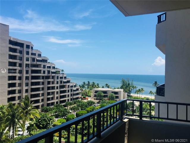 201 Crandon Blvd #820, Key Biscayne, FL 33149 (MLS #A11056027) :: Berkshire Hathaway HomeServices EWM Realty