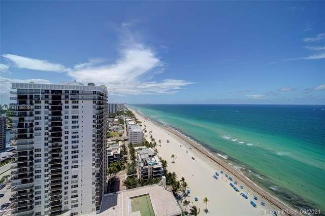 2301 S Ocean Dr #2604, Hollywood, FL 33019 (MLS #A11056091) :: Berkshire Hathaway HomeServices EWM Realty