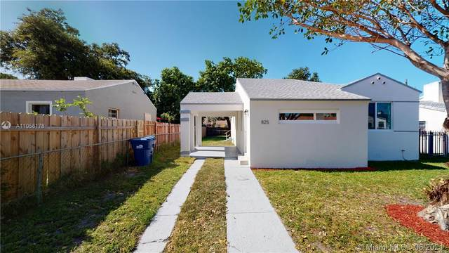 825 NW 75th St, Miami, FL 33150 (MLS #A11056178) :: The Rose Harris Group