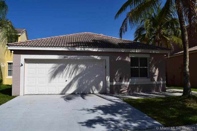 1030 Thistle Creek Ct, Weston, FL 33327 (MLS #A11056237) :: Equity Realty