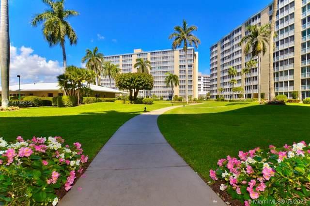 3310 S Ocean Blvd 328-D, Highland Beach, FL 33487 (MLS #A11056254) :: Team Citron
