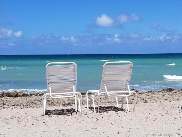 2030 S Ocean Dr #501, Hallandale Beach, FL 33009 (MLS #A11056270) :: Castelli Real Estate Services