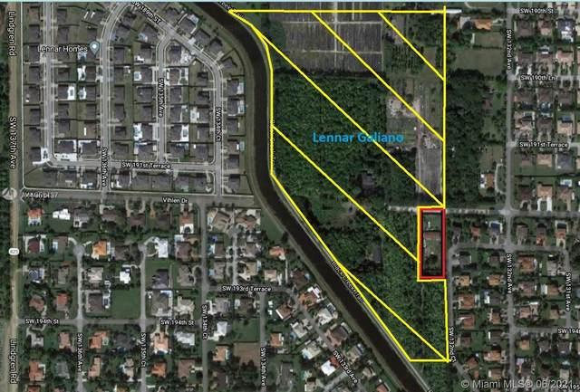 13280 SW 192nd St, Miami, FL 33177 (MLS #A11056437) :: Douglas Elliman