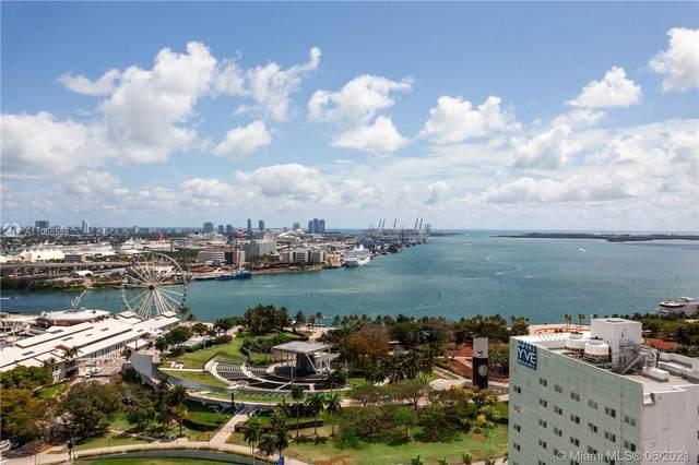 253 NE 2nd St #2403, Miami, FL 33132 (MLS #A11056535) :: GK Realty Group LLC