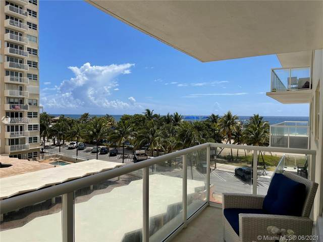 111 N Pompano Beach Blvd #507, Pompano Beach, FL 33062 (MLS #A11056571) :: Re/Max PowerPro Realty