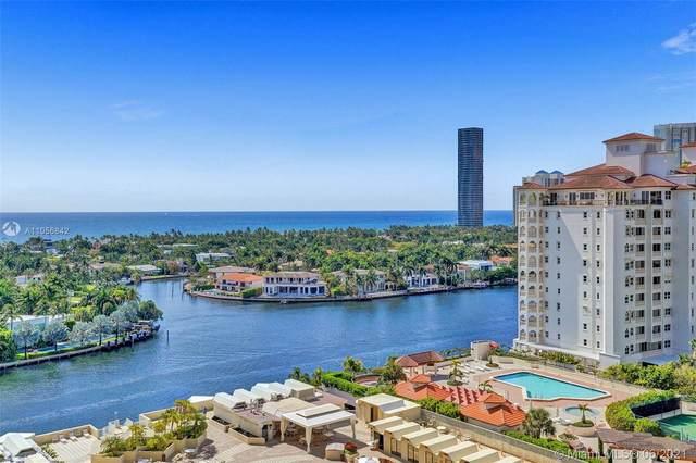 20191 E Country Club Dr #1501, Aventura, FL 33180 (#A11056842) :: Posh Properties