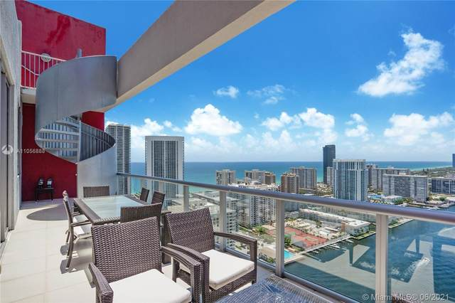 2600 E Hallandale Beach Blvd T3305, Hallandale Beach, FL 33009 (MLS #A11056888) :: Prestige Realty Group