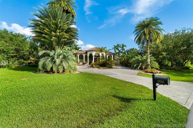2850 Windmill Ranch Rd, Weston, FL 33331 (MLS #A11056990) :: All Florida Home Team
