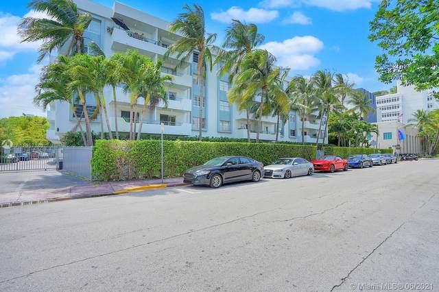 1610 Lenox Ave #204, Miami Beach, FL 33139 (MLS #A11057140) :: The Rose Harris Group