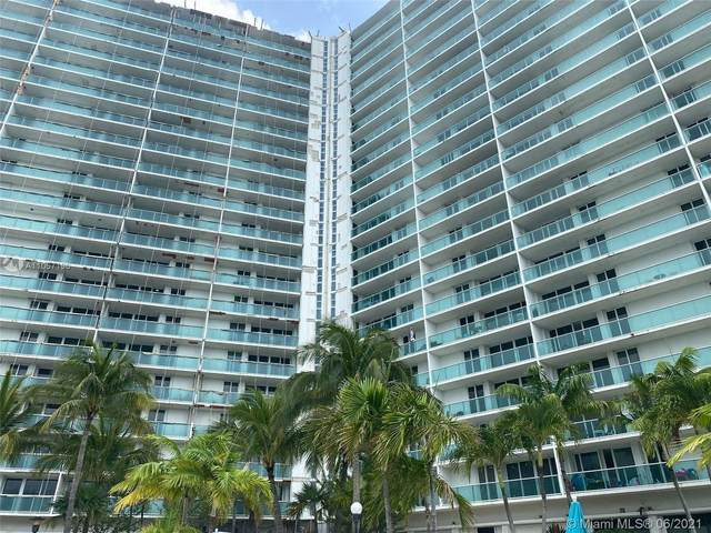 100 Bayview Dr #1101, Sunny Isles Beach, FL 33160 (MLS #A11057196) :: United Realty Group