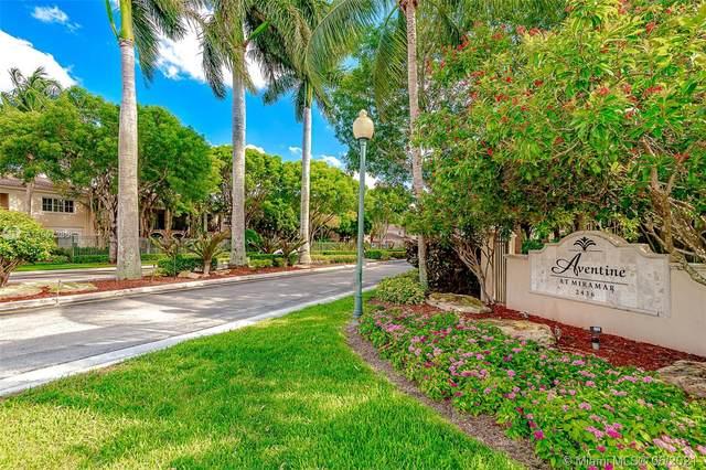 2452 Centergate Dr #103, Miramar, FL 33025 (MLS #A11057286) :: Prestige Realty Group