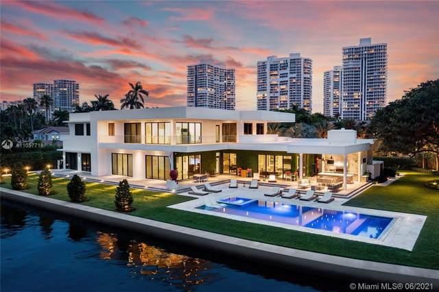 660 N Island Dr, Golden Beach, FL 33160 (MLS #A11057718) :: KBiscayne Realty