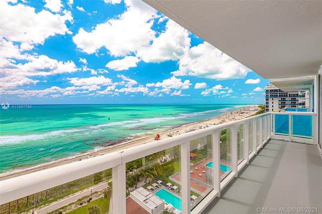 2457 Collins Ave #1603, Miami Beach, FL 33140 (MLS #A11057760) :: The Teri Arbogast Team at Keller Williams Partners SW