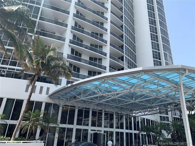 18101 Collins Ave #606, Sunny Isles Beach, FL 33160 (MLS #A11057790) :: The Teri Arbogast Team at Keller Williams Partners SW