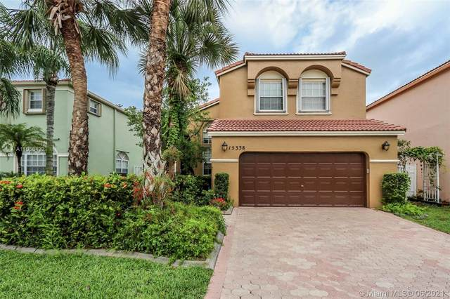 15338 NW 3rd St, Pembroke Pines, FL 33028 (MLS #A11058492) :: The Howland Group