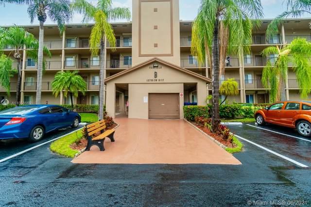 12755 SW 16th Ct 305B, Pembroke Pines, FL 33027 (MLS #A11058669) :: Re/Max PowerPro Realty