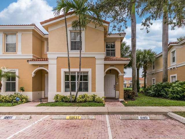 12851 SW 31st Ct #154, Miramar, FL 33027 (MLS #A11059001) :: Search Broward Real Estate Team