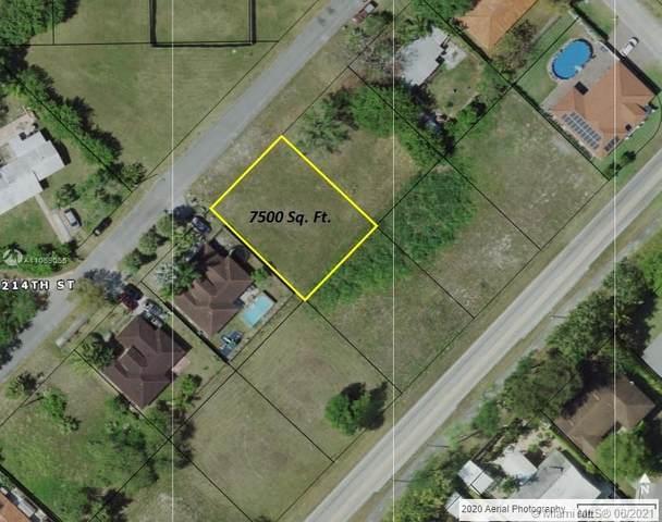 21333 Ingraham Av. Rd, Cutler Bay, FL 33189 (MLS #A11059055) :: Rivas Vargas Group