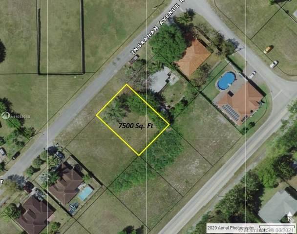 21329 Ingraham Av. Rd, Cutler Bay, FL 33189 (MLS #A11059060) :: Douglas Elliman