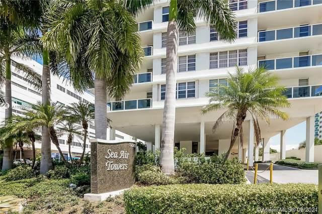 3725 S Ocean Dr #1009, Hollywood, FL 33019 (MLS #A11059080) :: Search Broward Real Estate Team
