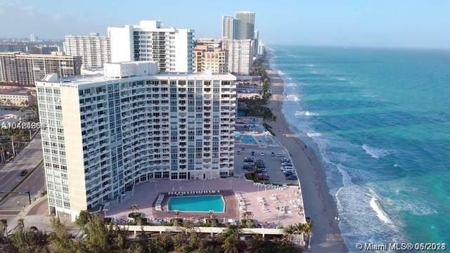 3180 S Ocean Dr #919, Hallandale Beach, FL 33009 (MLS #A11059086) :: Green Realty Properties