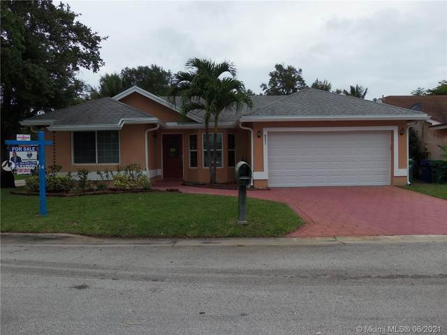 9571 NW 24th Ct, Coral Springs, FL 33065 (MLS #A11059114) :: Re/Max PowerPro Realty
