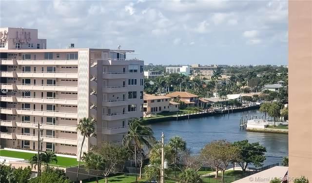 201 N Ocean Blvd #806, Pompano Beach, FL 33062 (MLS #A11059301) :: Re/Max PowerPro Realty