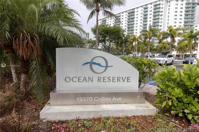 19370 Collins Ave #1603, Sunny Isles Beach, FL 33160 (MLS #A11059324) :: Miami Villa Group