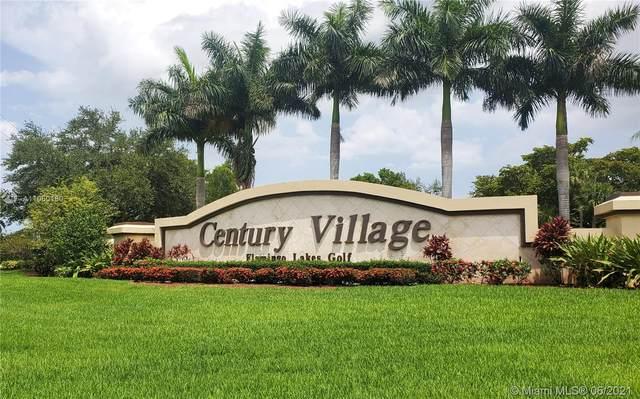 200 SW 132nd Way 106L, Pembroke Pines, FL 33027 (MLS #A11060180) :: Re/Max PowerPro Realty