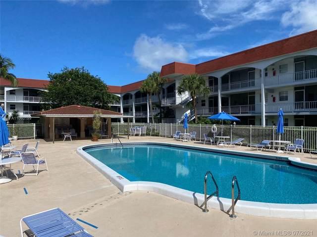 541 Blue Heron Dr #109, Hallandale Beach, FL 33009 (MLS #A11060199) :: Prestige Realty Group