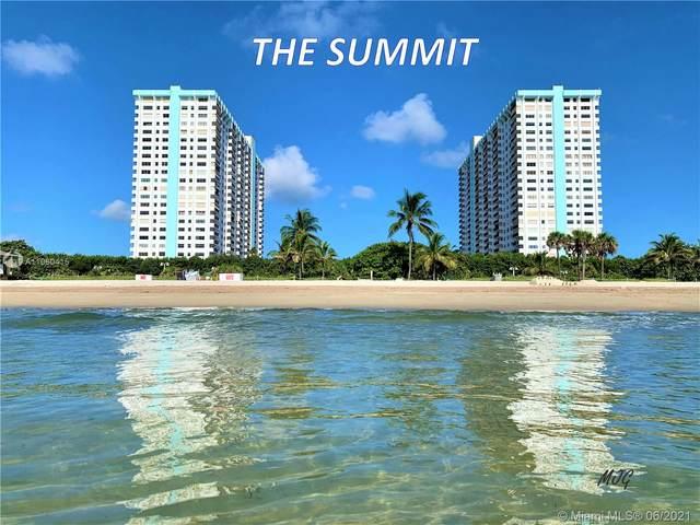 1201 S Ocean Dr 1210S, Hollywood, FL 33019 (#A11060415) :: Dalton Wade