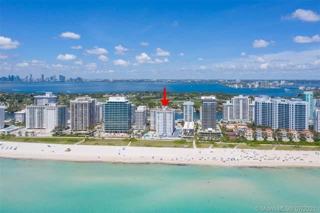 5825 Collins Ave 12F, Miami Beach, FL 33140 (#A11060635) :: Dalton Wade