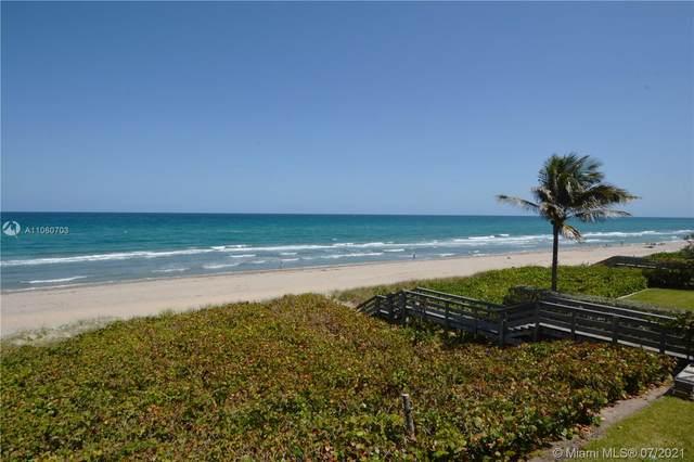 2575 S Ocean Blvd 102S, Highland Beach, FL 33487 (#A11060703) :: Dalton Wade
