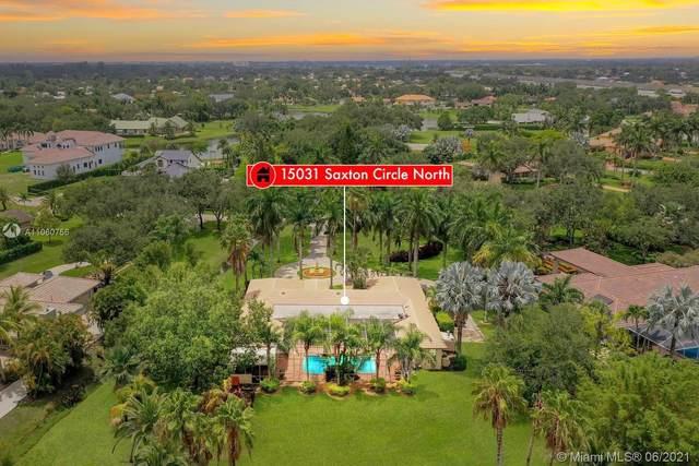 15031 N Saxon Cir, Southwest Ranches, FL 33331 (MLS #A11060756) :: Team Citron