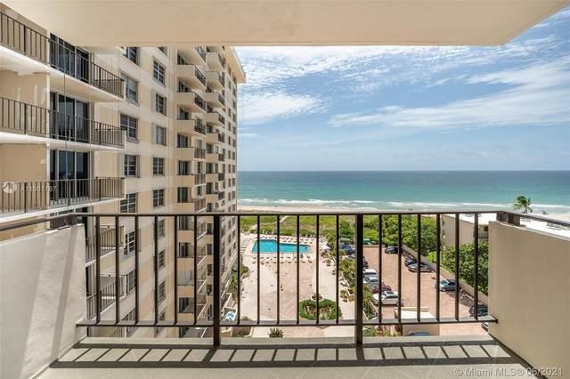 1900 S Ocean Blvd 8T, Lauderdale By The Sea, FL 33062 (#A11061187) :: Dalton Wade