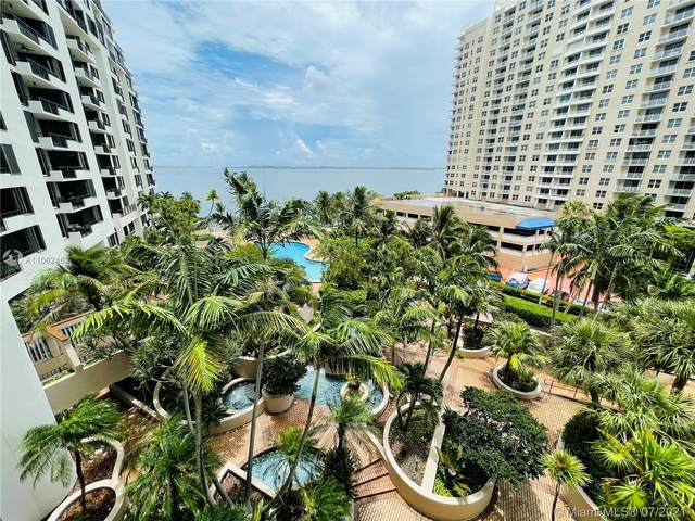 520 Brickell Key Dr A713, Miami, FL 33131 (MLS #A11062462) :: The Teri Arbogast Team at Keller Williams Partners SW