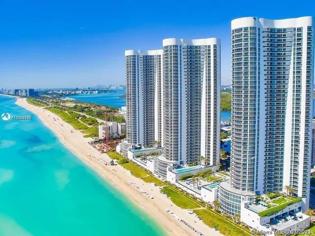 15901 Collins Ave #604, Sunny Isles Beach, FL 33160 (MLS #A11062790) :: Berkshire Hathaway HomeServices EWM Realty