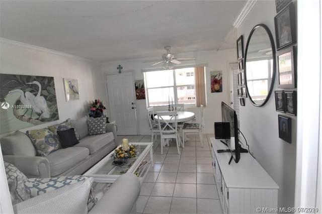 3133 S Ocean Dr #219, Hallandale Beach, FL 33009 (MLS #A11062897) :: Green Realty Properties