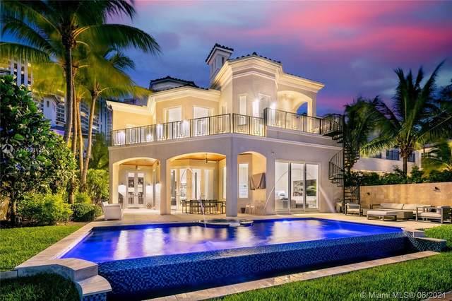 3916 Island Estates Dr, Aventura, FL 33160 (MLS #A11063126) :: Team Citron