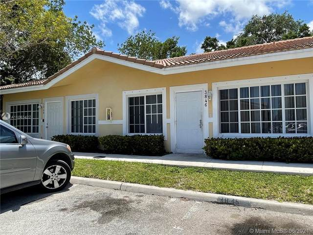 3846 SW 48th Ave, Pembroke Park, FL 33023 (MLS #A11063427) :: Equity Advisor Team