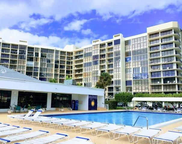 600 Parkview Dr #415, Hallandale Beach, FL 33009 (#A11063629) :: Dalton Wade