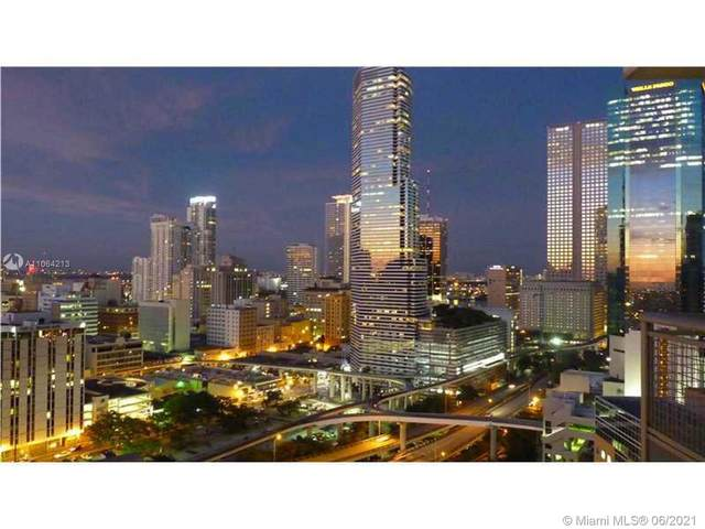 350 S Miami Ave #3715, Miami, FL 33130 (MLS #A11064213) :: The Rose Harris Group