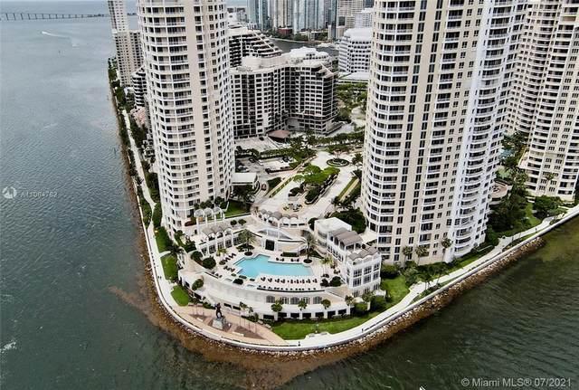 848 Brickell Key Dr #1404, Miami, FL 33131 (MLS #A11064782) :: Jo-Ann Forster Team