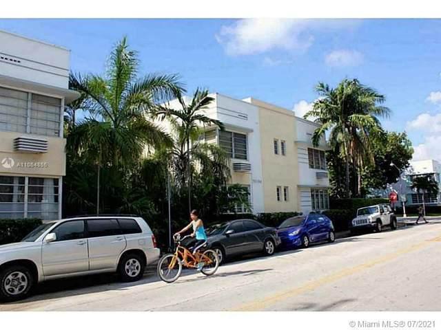 740 10th St #108, Miami Beach, FL 33139 (#A11064856) :: Dalton Wade