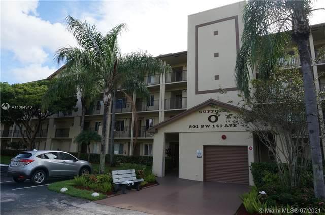 801 SW 141st Ave 304O, Pembroke Pines, FL 33027 (#A11064913) :: Dalton Wade