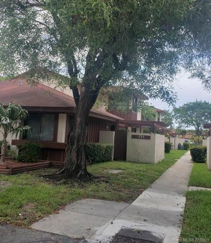525 NW 210th St 103-35, Miami Gardens, FL 33169 (MLS #A11065336) :: Green Realty Properties