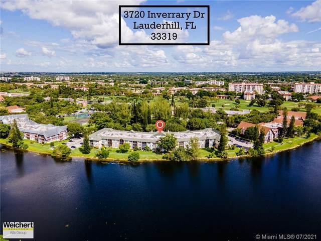 3720 INVERRARy Dr 1V, Lauderhill, FL 33319 (MLS #A11066036) :: The Teri Arbogast Team at Keller Williams Partners SW