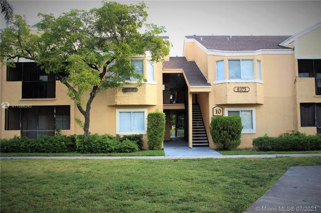 8375 SW 5th St #102, Pembroke Pines, FL 33025 (MLS #A11066240) :: Castelli Real Estate Services