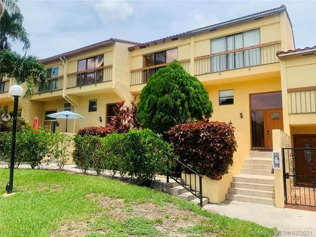 4018 Del Rio Way #4018, Sunrise, FL 33351 (MLS #A11066312) :: Castelli Real Estate Services